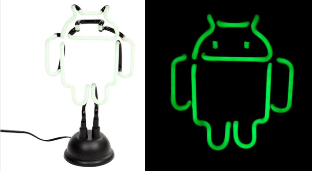 Android Neon Lamp