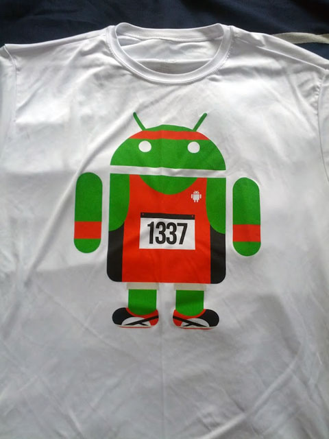 Android Runner Shirt