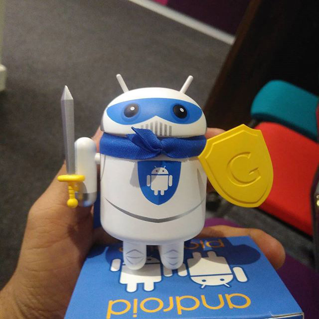 Google Android Security Android Figurine