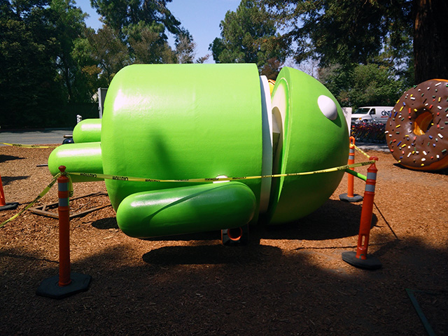 Google Android Statue Recovery
