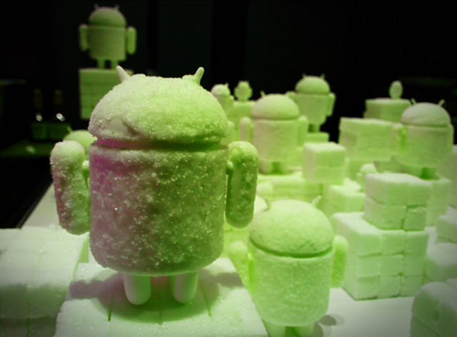 Android Sugar Cubes