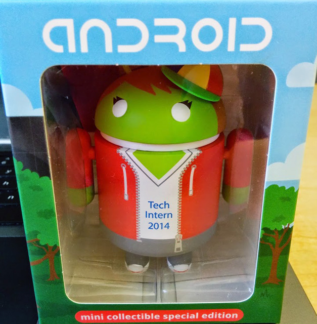 Android Tech Intern Figurine