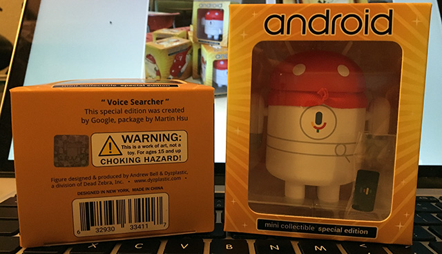 Voice Search Android Mini Collectibles
