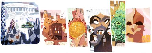 Google Antoni Gaudí Logo