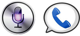 Apple Siri & Google Voice