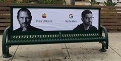 Anti-Google Posters: Apple Think Different, Google Not So Much