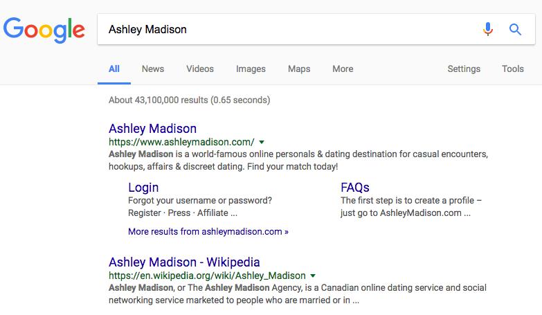 Ashley Madison dating sivusto Wikipediatyttö dating kaveri lyhyempi kuin hänen