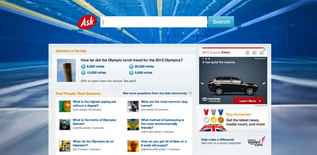 Ask London Olympics