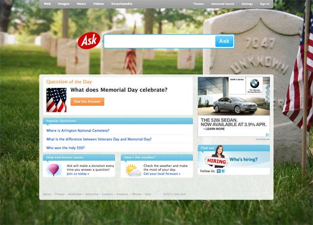 Ask Memorial Day