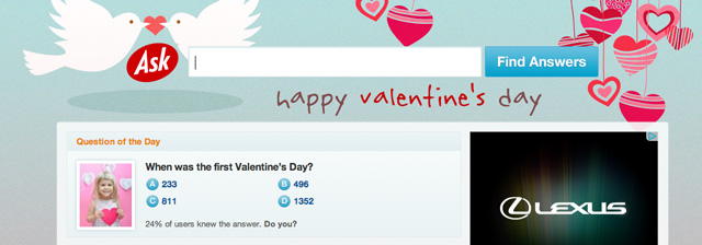Ask Valentine's Day