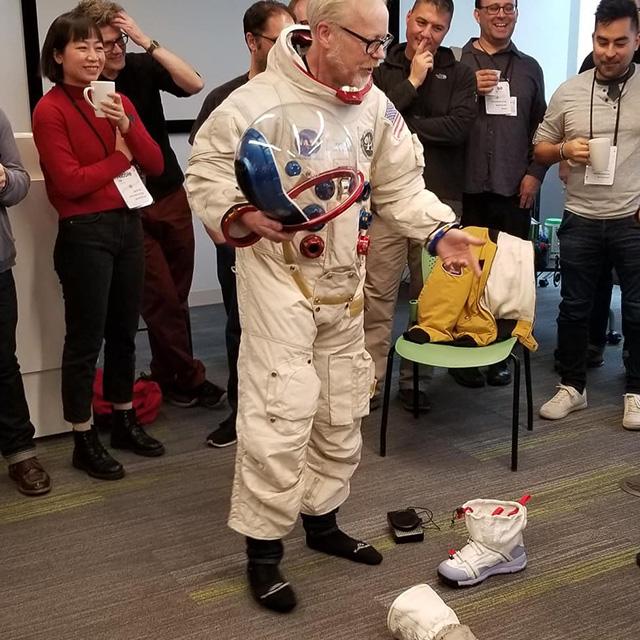 Astronauts At Google Chicago