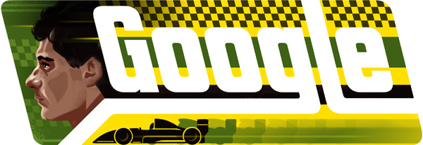 Ayrton Senna Google Logo