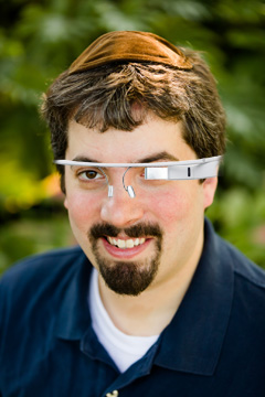 Barry Schwartz Fake Google Glass