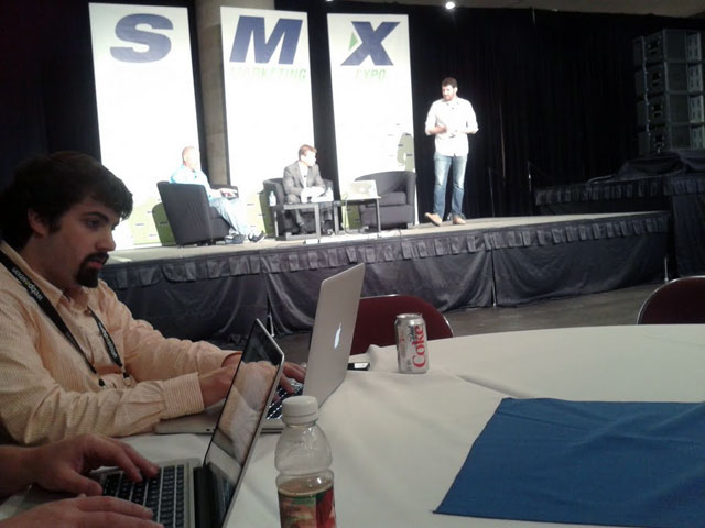 Barry Schwartz Live Blogging SMX