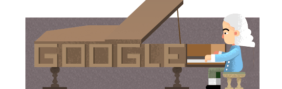 Google Bartolomeo Cristofori's 360th Birthday LogoFor  Who Invented The Piano
