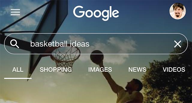 A Pesquisa do Google testa cabeçalhos personalizados com base em consulta 9