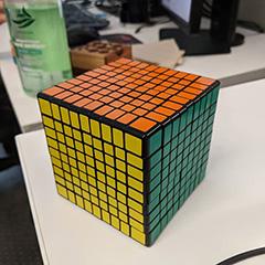 Really Big Rubik's Cube At Google