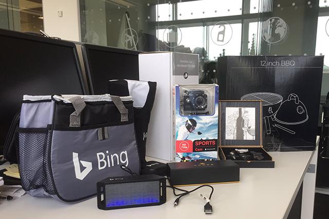 Bing Ads Prize Box
