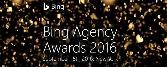 Bing Agency Awards
