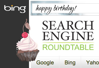Bing 4th Birthday Logo