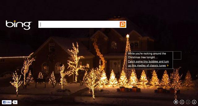 Bing Christmas 2011