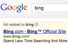 Bing Crawling AdWords