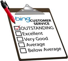 Bing Customer Service