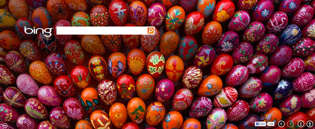 Bing Easter Theme 2012