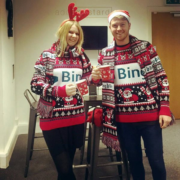 Bing Holiday Sweater & Scarf Gift