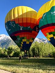 A Bing Hot Air Balloon