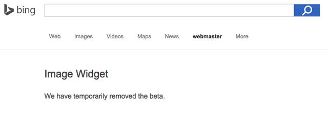 Bing Image Widget Tool Offline