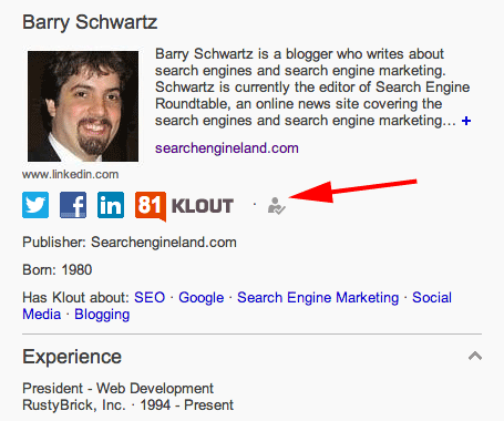 Bing Verified Profiles Via Klout
