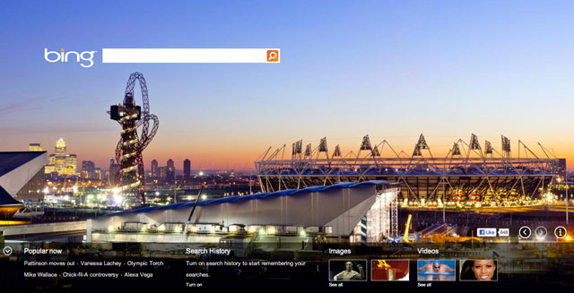 Bing London Olympics Theme