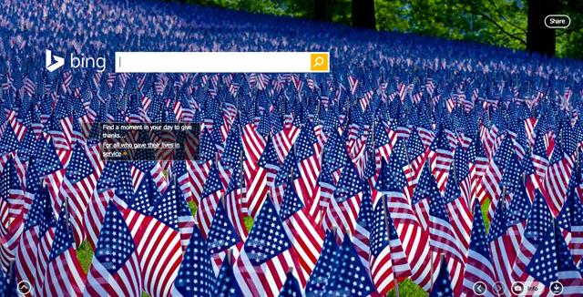 Bing Memorial Day 2014