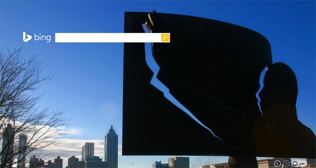 Bing Martin Luther King Jr. Day Logo