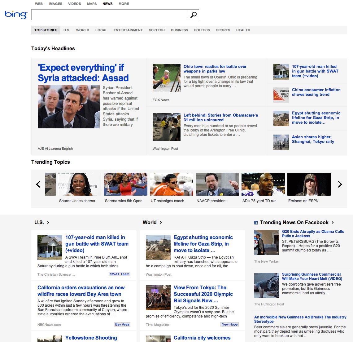 Bing News Ov... Bing News
