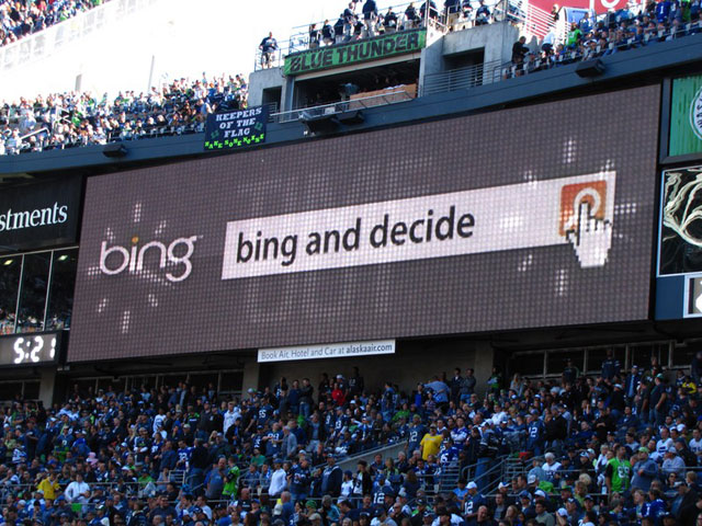 Bing Ads At Seattle Seahawks