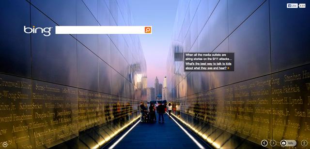 Bing On 9/11/2013