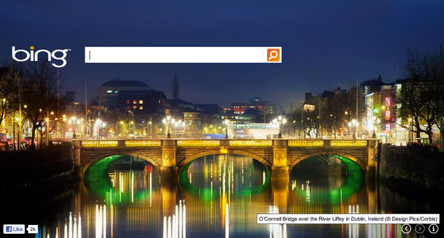 Bing's St. Patrick's Day Theme