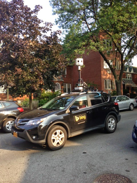 Bing Street Maps Car