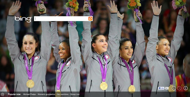 Bing USA Gymnastics Gold