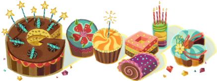 google birthday logo for me