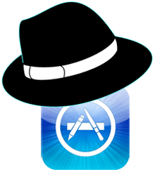 App Store Black Hat Icon