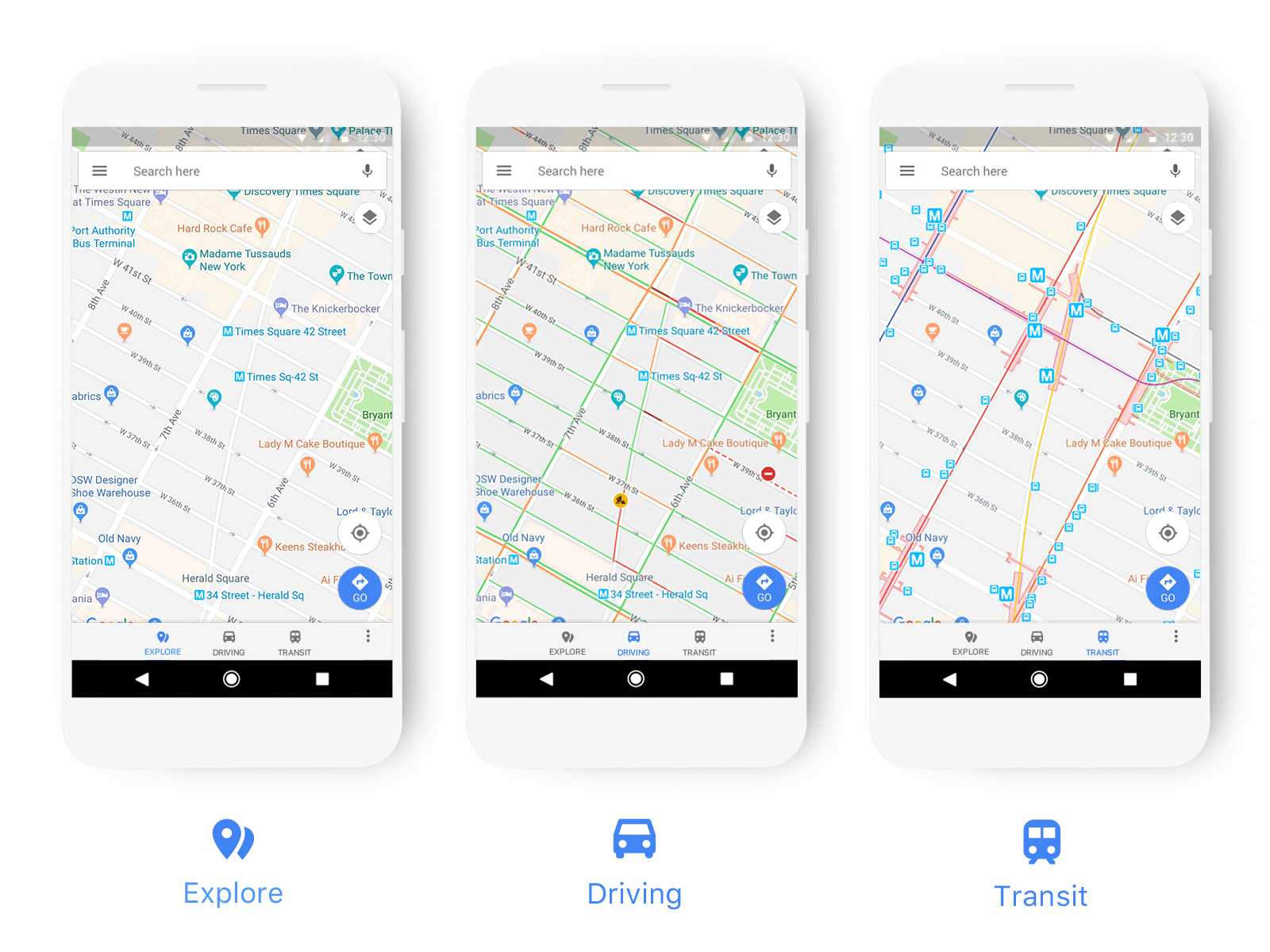 Google Maps gets a new design for highlighting relevant information to users