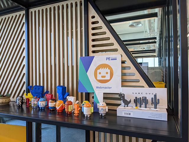 Bots Waiting At The Google Tel Aviv Office