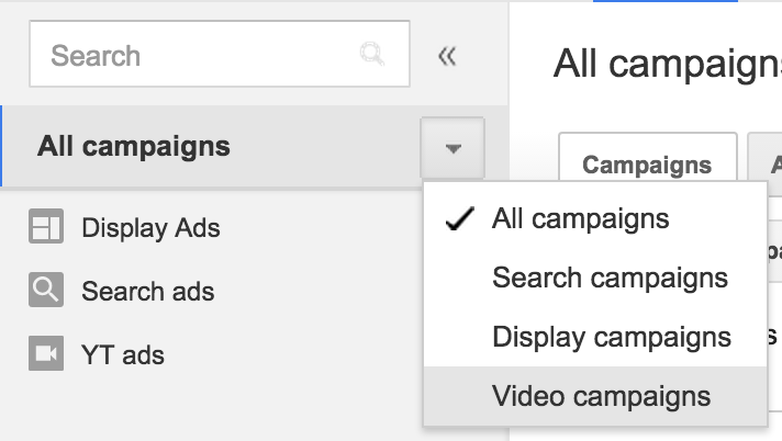 how to create a campaign in the new google adwords