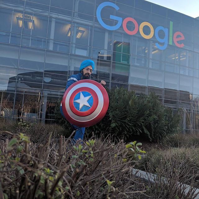 Captain America At Google?