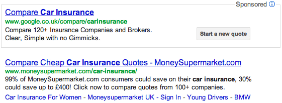 Google Car Insurance Quotes