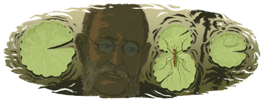 Carlos Juan Finlay's 180th Birthday Google Doodle