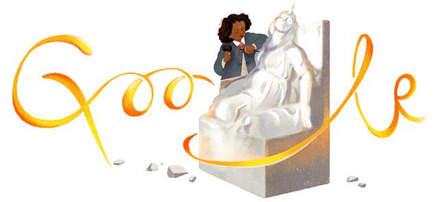 Google Doodle For Edmonia Lewis